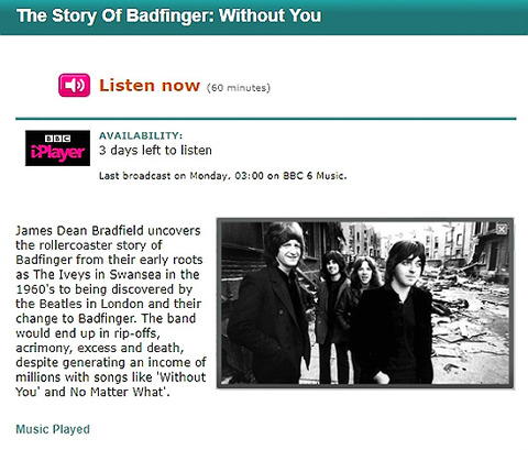 The Story of Badfinger - Without You Sep 6, 2010