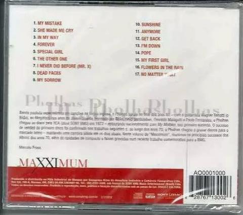 Pholhas Maxximum back