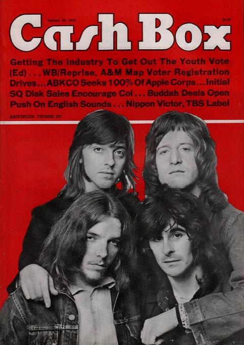 Cash Box Feb 26 1972 Badfinger