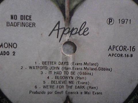 No Dice LP 1971 Brazil r2