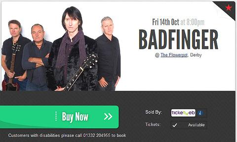 Badfinger UK Oct 14 2016