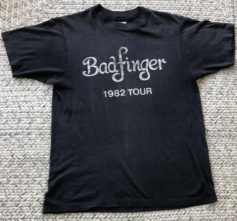 Badfinger 1982 Tour Concert T-shirt