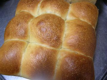 梅酵母ちぎりパン