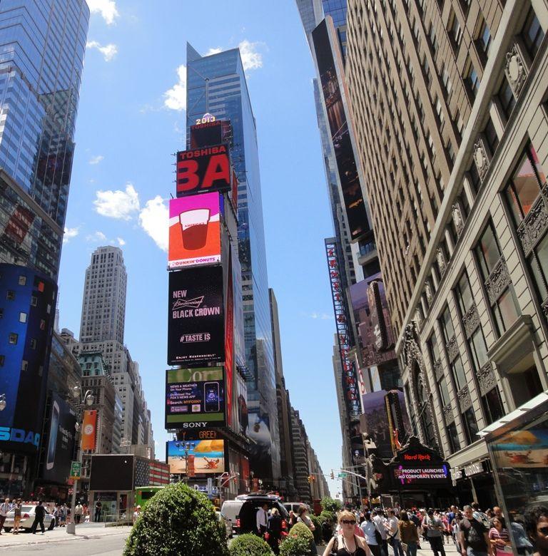 NY 4日目 タイムズスクエア オペラ座の怪人 : 2013 ニューヨーク 旅 ...