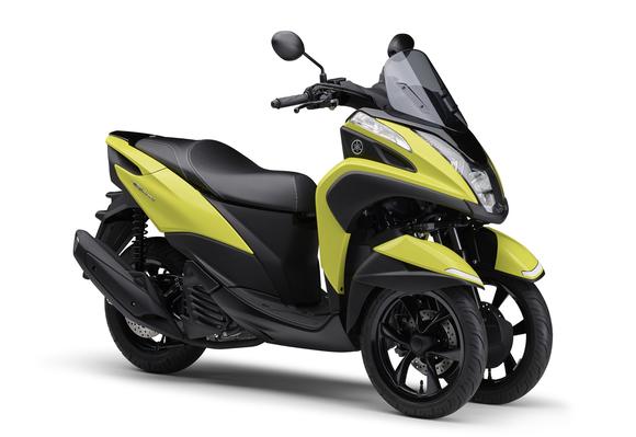 ヤマハ、新色イエローを採用した「TRICITY 125/ABS」2021年モデルを発売