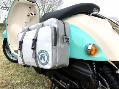 『ゆるキャン△』志摩リンが使っていたサイドバッグが商品化、劇中に登場したバイクを再現できる
