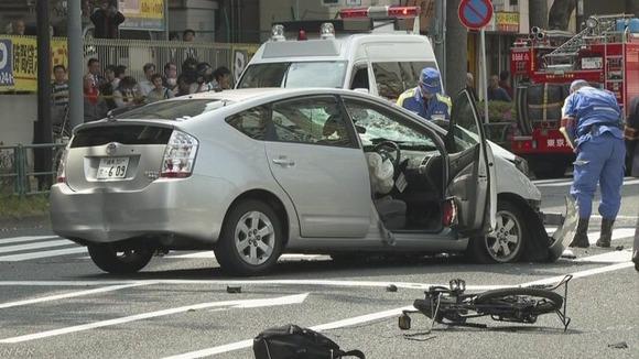 防犯カメラの映像に写っていた飯塚幸三のプリウス、ブレーキランプ点灯していなかった