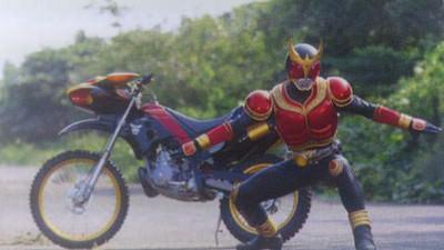 平成ライダーのバイク貼ってく