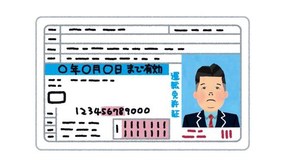 普通免許「40万です」バイク免許「15万です」原付免許「1万です」