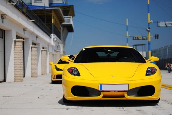 ferrari-yellow-sports-car-vehicle-car-automobile
