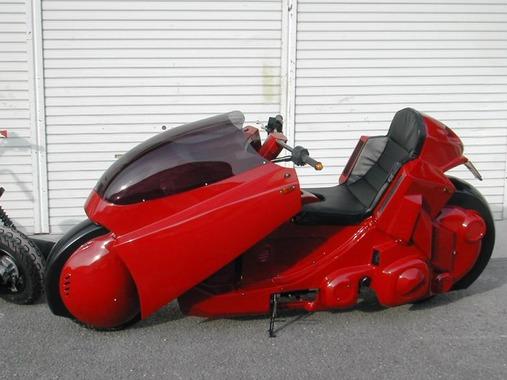 AKIRAを見て金田のバイクに乗りたくなるじゃん?
