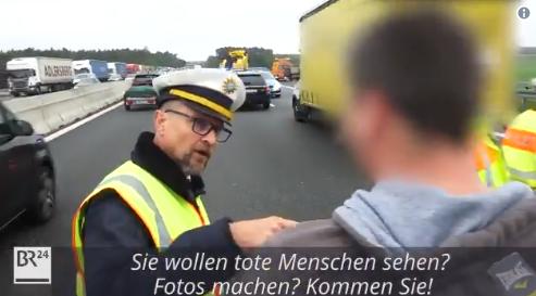 交通事故の撮影が違法のドイツ、撮影した場合は罰金16000円