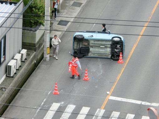 みんな車やバイクで事故ったことある?どんな交通事故で人身事故はあった?
