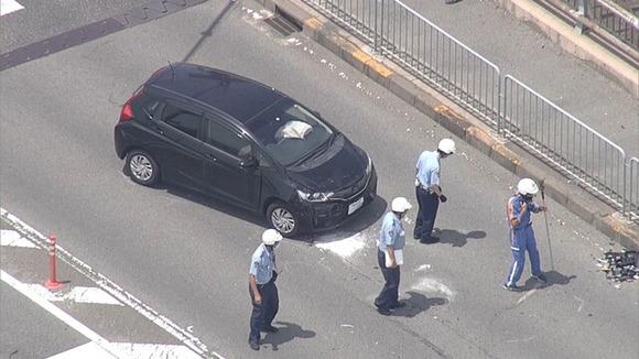 和歌山県の交差点で車とバイクの計7台が絡む多重事故、バイクの22歳女性が死亡