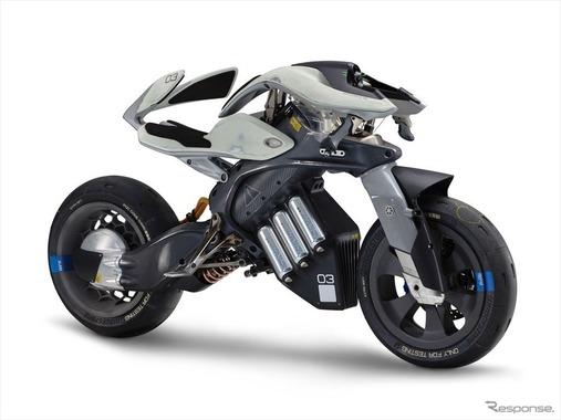 ヤマハの自律モーターサイクル「モトロイド」、世界3大デザイン賞を制覇
