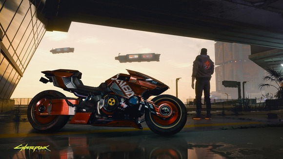 【悲報】サイバーパンク2077のバイク、ダサい