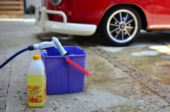 車とかバイクを手洗いで洗車しようと思うんだけどさ