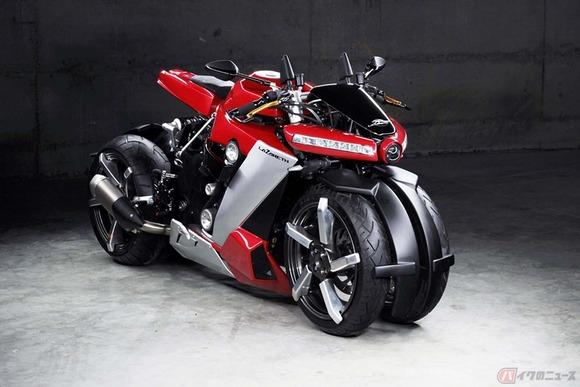 フランス発ヤマハ製エンジン搭載の四輪バイク「LM410」が登場