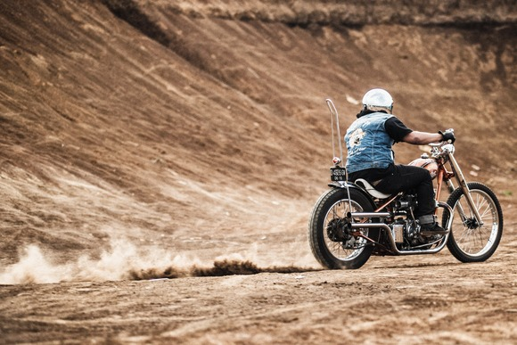 真夏の旧車バイク乗りは何を着れば良いんだよ!!!!???