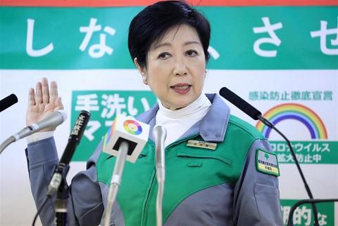 小池百合子都知事「緊急事態宣言の要請も視野にスピード感を持って検討するよう指示した」