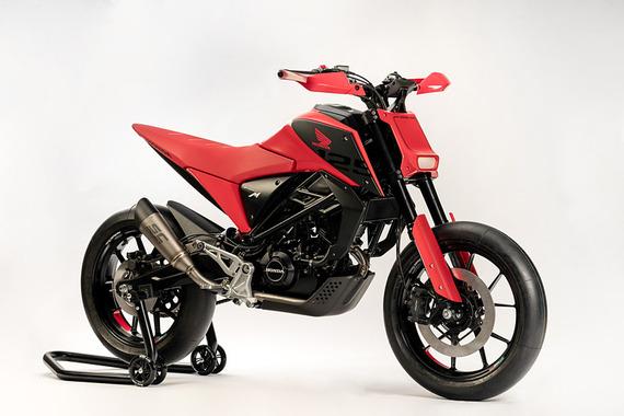 ホンダ、デザインスタディーモデル「CB125M」と「CB125X」をEICMA2018で公開
