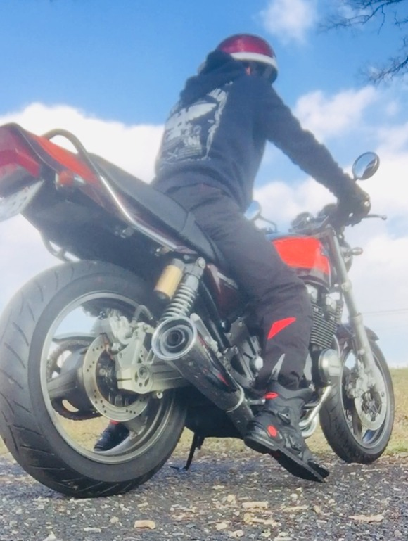 バイク好きだけど、休みだし早速ツーリングしてきた