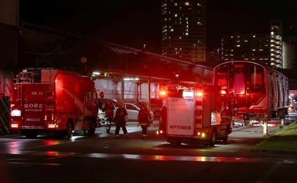 川崎重工業の工場から出火、警備員から「手に負えない」と通報