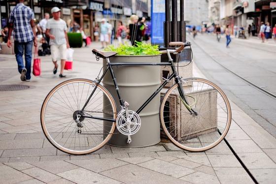 bike-bicycle-sidewalk-street-road-people