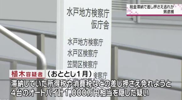差し押さえ免れようとバイク4台計1000万円相当を隠した九州男を逮捕