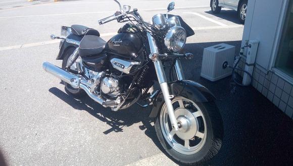 バイクを入院させたら代車がアメリカンで泣いた・・・