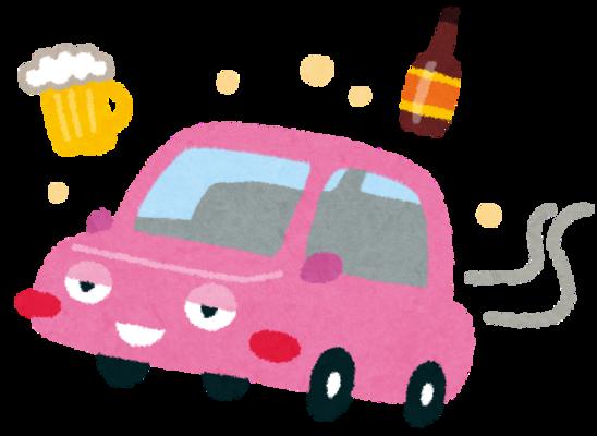 酒飲んで車運転し信号待ちのバイク2台に追突、無免許の46歳男逮捕