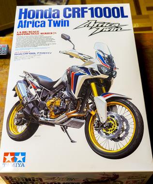 バイクのプラモがAmazonから届いた!