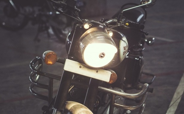 motorcycle-motorbike-headlight-night