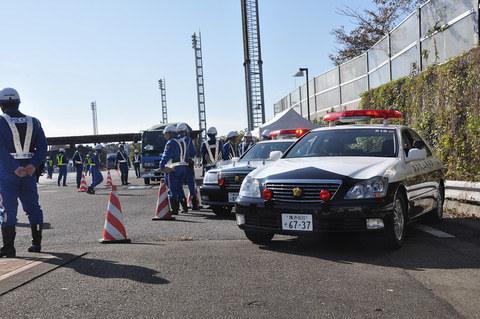 千葉県警、「東京オートサロン 2020」開催に伴い一斉取り締まり