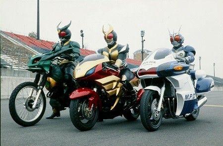 仮面ライダーアギトの乗ってるバイクめっちゃ欲しい