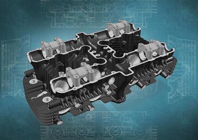カワサキ、愛好家向けに「Z1」および「Z2」のエンジン部品(シリンダーヘッド)再生産を発表
