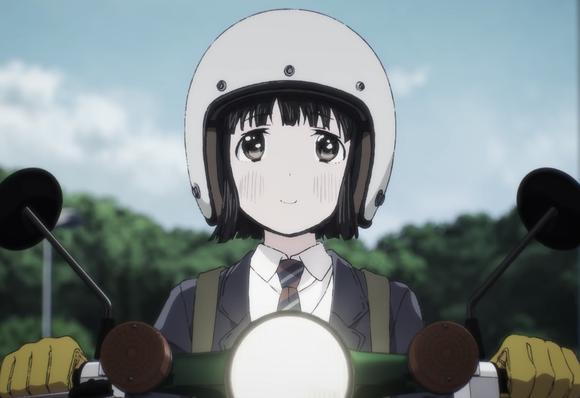 新バイクアニメ「スーパーカブ」放送決定