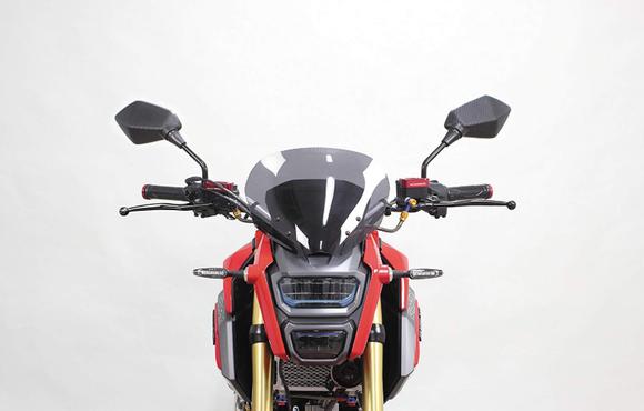 バイクのミラーってなんで電動格納式にしないの?