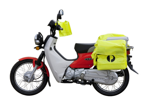Honda-Postie-Contractor-Bike-Red