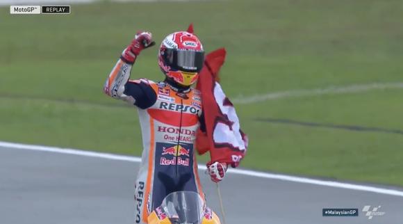 MotoGP2018第18戦マレーシアGP 決勝結果