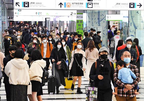 我慢の3連休「人多くて驚いた」、九州の観光地は大混雑