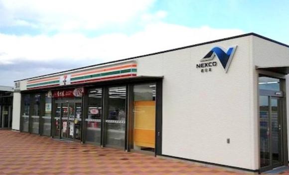 NEXCO西日本管内の無人パーキングエリアにセブンイレブンが出店へ