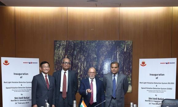 電子反則キップがSMSで届く、スズキのインド法人が「新型オービス&信号無視検知システム」を開発