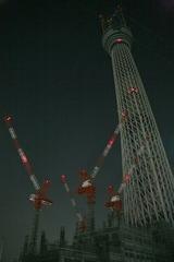 東京スカイツリー近景