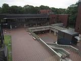 東京都美術館の入口付近:東京上野公園