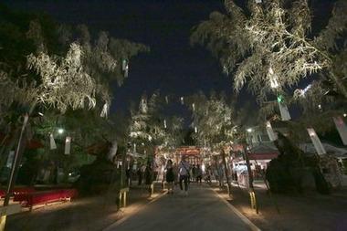 新たな風物詩「夏詣」にて:浅草神社(東京都台東区)