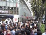 街中ファッションイベント:原宿表参道にて