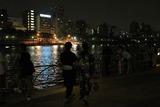 隅田川の灯篭流しにて・その2