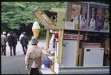 営業中:上野公園にて