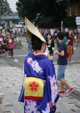 スーパーよさこい2013:明治神宮前(原宿)にて